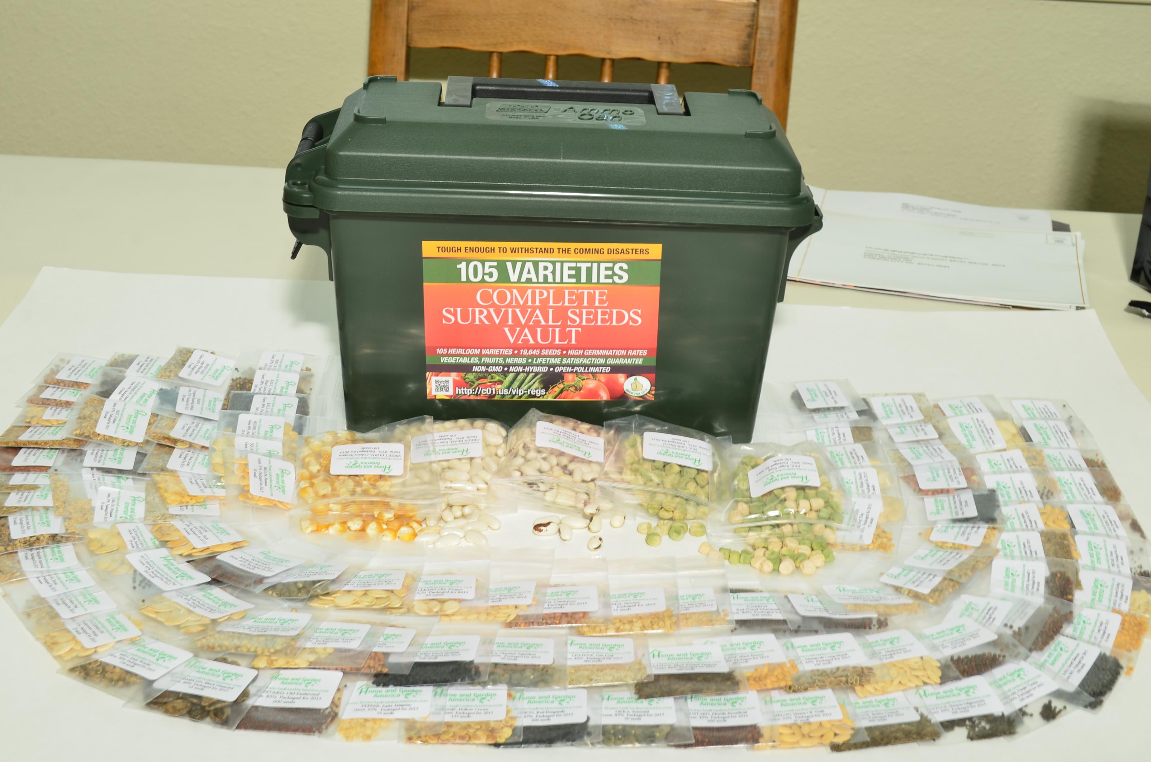 Survival Seeds Kit